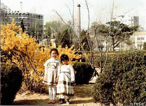 사촌언니와 사직공원에 놀러가서 찍은 사진입니다