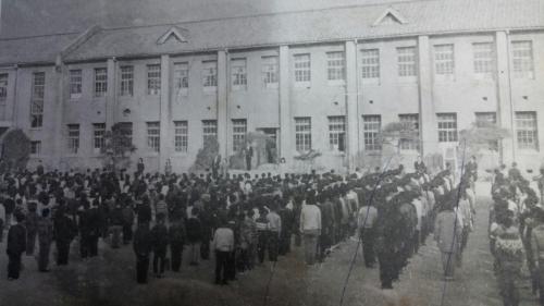 삼청국민학교 졸업식