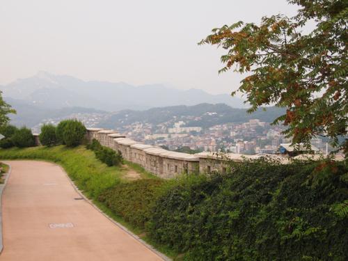 낙산공원 풍경