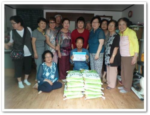 [[행복드림릴레이]교남동 통장협의회에서 행촌,교남경로당 어르신들을 위해 쌀을 지원해드렸습니다.(20160627) ]