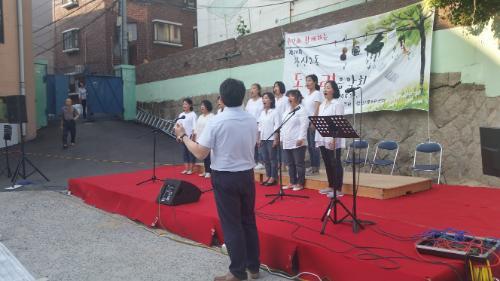 창신2동 돗자리 음악회 개최!