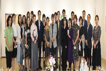 돈화문갤러리 중견작가 집중 조명전 개막식